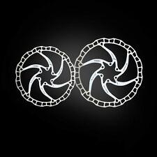 2 unid braguitas discos de freno Ultralight ai rotor (Tune it) 160mm u.180mm blanco Ashima aro 08