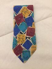 Cravatta MISSONI, 100% Seta, Originale, vintage, Eccellenti condizioni !!!