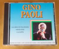 GINO PAOLI - GRANDI SUCCESSI - 1993 CANARIA - OTTIMO CD [AF-158]