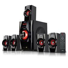 BFS-410 5.1 Channel Surround Sound Bluetooth Speaker Home Theater System in Red