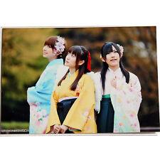 """AKB48 Yuko Oshima Mayu Watanabe Mariko Shinoda """"Sakura no Shiori"""" photo"""