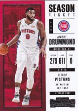 Andre Drummond  2017-18 Panini Contenders Basketball Sammelkarte, #45