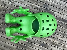 Crocs Croslite Guy Green Shoes Sandals Giant Size Store Display Rare