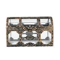 Treasure Box Treasure Chest Trinket Storage Box Gem Organizer Jewelry Case