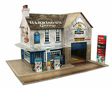 O gauge (7mm) 1:43 scale Model Railway Building GARAGE & SHOP Kit CityBuilder