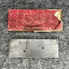 Vintage Starrett No 154e Adjustable Parallel Machinist Tool Usa