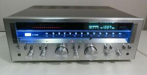 SANSUI G-5700 RECEIVER WORKS PERFECT SERVICED FULLY RECAPPED LED UPGRADE