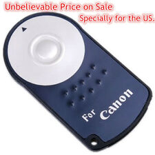 RC-6 IR Wireless Remote Control for Canon 600D 550D 450D EOS 5D Mark II 7D 60D