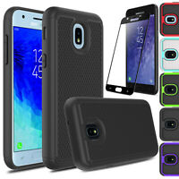 For Samsung Galaxy J3 Orbit/J3 V 2018/Star Shockproof Case With Screen Protector