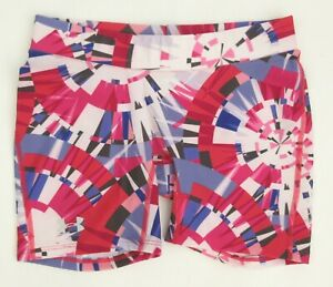 """Women's Under Armour COMPRESSION 5"""" Shorts Pink Purple White SMALL MINT!"""