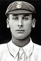 Cricket Postcard, Cricketer Jack Hobbs in the Early 1900s 56K