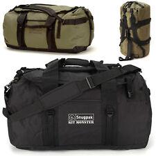 Snugpak Kitmonster Travel EDC Holdall Duffle Bag Suitcase 120L > Black or Green
