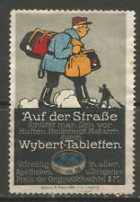 Wybert-Tabletten advertising stamp/label (German text)