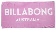 Tag Billabong Womens Girls Orchid Velour Beach Towel Swim Surf Pool