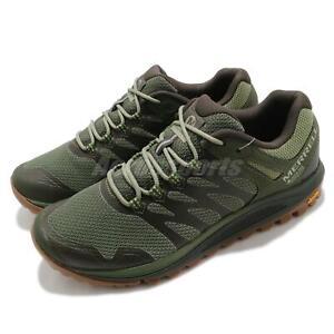 Merrell Nova 2 GTX Gore-Tex Green Lichen Men Outdoors Hiking Trail Shoes J066653