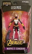 Hasbro Marvel Legends SONGBIRD Avengers Thanos Build A Figure BAF Wave 6""