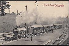 London Postcard - G.N.R. Royal Train Passing Oakleigh Park   DR492