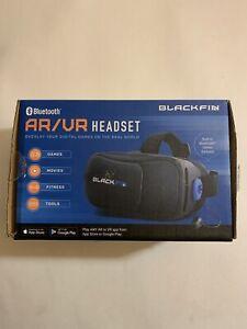 Black Fin AR/VR Headset - Black/Blue