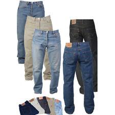 Levis 516 Blue Regular Fit Slim Stretch Jeans Denim Bottom Pants Iconic