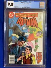 DETECTIVE COMICS #542 CGC 9.8 NM/MT Batman Robin 1984 Newsstand ULTRA HIGH GRADE