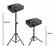 Projector Stand Heavy Duty Tripod Height Adjustable 50CM  160CM For Home Office