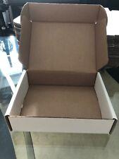 50 Qty 9x7x2-1/4 White Shipping Mailer Literature Box Packaging Box