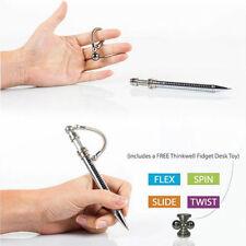 FIDGET THINK INK PEN Desk Toys Magnetic Metal Roller Finger Fidget Toy Pen