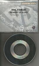 ROD STEWART Moment of Glory RARE PROMO radio DJ CD single 1991MINT PROCD 4923