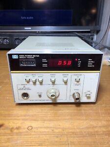 E HP 436A Power Meter Spettro Oscilloscopio