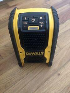 Dewalt 20 Volt Max Bluetooth Speaker DCR006