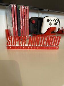 Super Nintendo Logo Display Sign