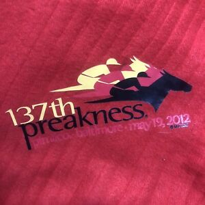 137th preakness stakes 2012 pimlico red Ribbed blanket i'll have another