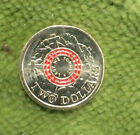 #C20. TEN 2015 CIRCULATED AUSTRALIAN 2 DOLLAR $2 COINS, LEST WE FORGET