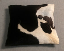 New Cow Hide Leather Cushion Cover Rug Cow Skin Cushion Pillow Covers C-1274