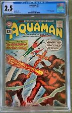 Aquaman #1 (1962) CGC 2.5 -- 1st solo series & 1st appearance of Quisp; Cardy