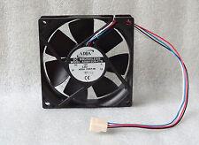 """NEW ADDA 80mm x 20mm Slim CPU Fan 4 Pin PWM 8"""" Wires AD0812UB-C7B"""