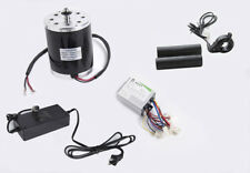 500 W 24 V electric brush motor kit w speed control box Thumb Throttle & charger