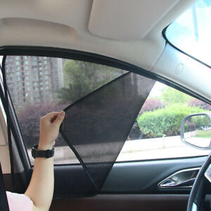 4Pcs Car Side Window UV Sun Shade Blind Mesh Cover Screen Protector Accessories