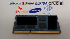 8GB DDR3-1600 PC3-12800S 2Rx8 DDR3 SDRAM Laptop Memory