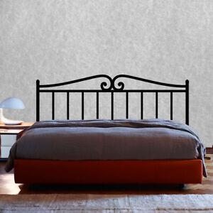Vinilo decorativo cabecero cama forja stickers decals decoración paredes
