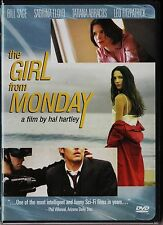 THE GIRL FROM MONDAY. NTSC USA Zone 1. Languages: English