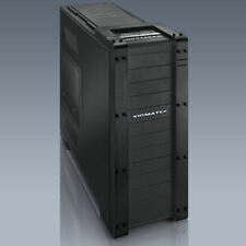 Xigmatek Elysium Black Server Edition All Black Aluminum/Steel Super Tower Case