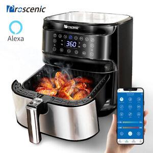 Proscenic Alexa Friteuse à air chaud sans huile 1700W electrique LED Four 5,5L