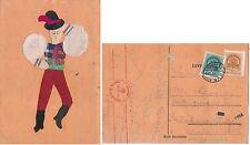 # COSTUMI: BALLERINO UNGHERESE - figura ottenuta con stoffe ed altri materiali