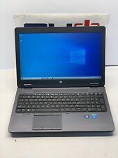HP Zbook 15 G2 - Intel Core i7-4810MQ 256GB SSD, 8GB RAM, Nvidia Quadro K610M
