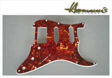 US Stratocaster Pickguard Fräsungen SSH, Brown Tortoise, 11 Lochbohrungen