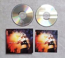 "CD AUDIO MUSIQUE / PATRICIA KAAS ""LIVE"" 2XCD ALBUM  DIGIPACK 2000 POP ROCK TBE"