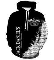 New Jack Daniels 3D Print Hoodie  Men Women Sweater Sweatshirt Jacket Tops