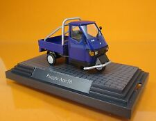 "Busch 60058 Piaggio Ape 50 "" Cross Country "" - blau - Scale 1/43"