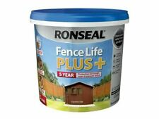 Ronseal Shed & Fence Paint UV Life Plus 5L Country Oak